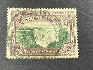 SOUTHERN RHODESIA # 37b-USED---P-12 1/2---SINGLE---1931-37