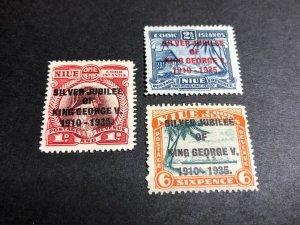 Niue Scott 67-69 Mint OG CV $11.80
