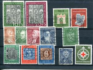 Germany  High Cat value lot  used   VF -   Lakeshore Philatelics
