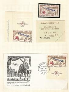 France 1964 Philatec Exhibition Collection - Cat£875