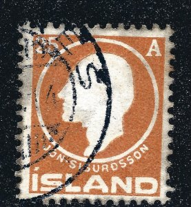 Iceland Attractive Sc#91 Used F-VF SCV $50...Key bargain!!