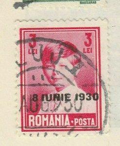 A5P47F94 Romania 1930 optd 3l used