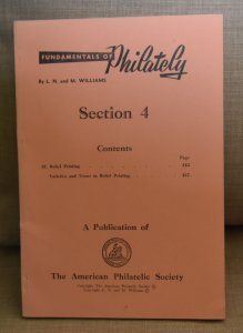 Doyle's_Stamps: APS Fundamentals of Philately, 1963/65 3rd Edition, Will...