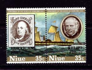 Niue B26 NH 1980 Pair
