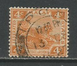 Malaya Federation  #57  Used  (1926)