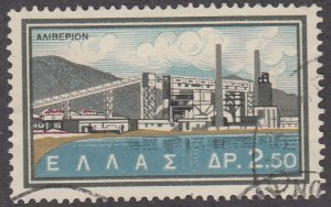 Greece, Sc 732 (1), Used, 1962, National Electrification