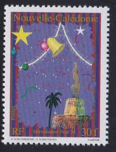 New Caledonia # 706a, Christmas Bells, NH