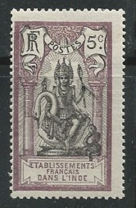 French India ||  Scott # 31  - MH