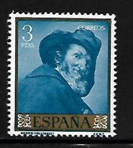 SPAIN, 876, MNH, GOYA PAINTINGS