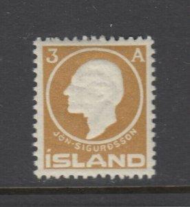 Iceland, Scott 87, MNH