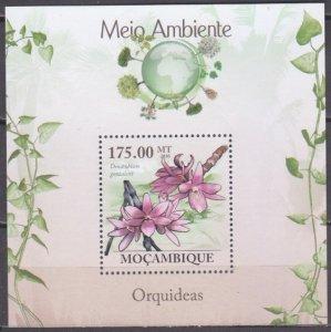 2010 Mozambique 3482/B290 Flowers 10,00 €