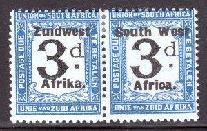 South West Africa - Scott #J30 - MH - Gum bump - SCV $5.25