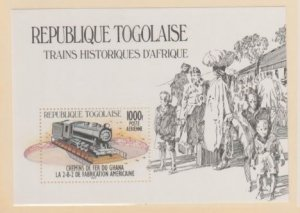 Togo Scott #1273 Stamps - Mint NH Souvenir Sheet