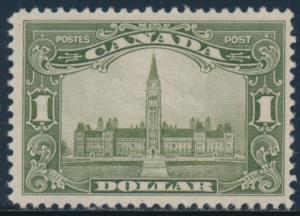 CANADA #159 F-VF OG LH CV $300 BU3051