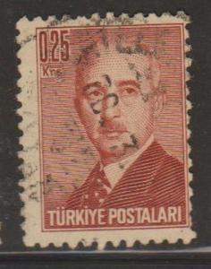 Turkey Sc#963 Used