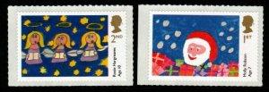 GB SG3550/1 2013 CHILDRENS CHRISTMAS MNH