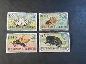 BR.INDIAN OCEAN TERRITORY # 86-89--MINT NEVER/HINGED----COMPLETE SET----1976