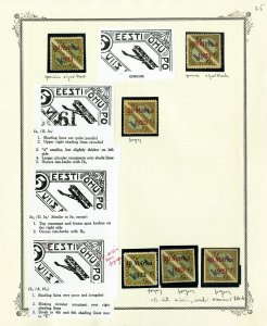 Worldwide Stamp Study Of Fakes Overprints
