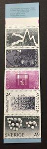 Sweden 1983 #1482a Booklet, Nobel Prize, MNH.
