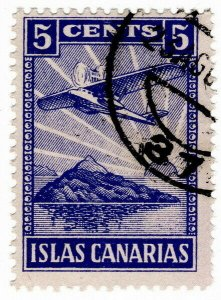 (I.B) Spain Local Post : Canary Islands 5c