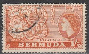 Bermuda #155 F-VF Used  (S2338)