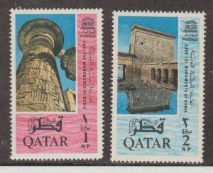 Qatar Scott #47-48 Stamps - Mint NH Set
