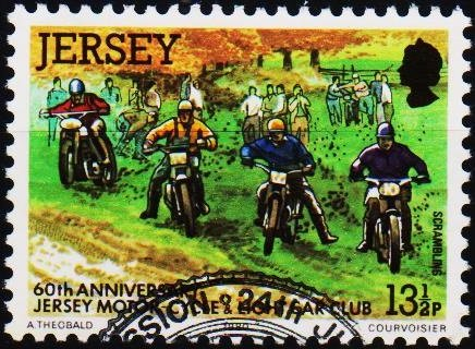 Jersey. 1980 13 1/2p S.G.235 Fine Used