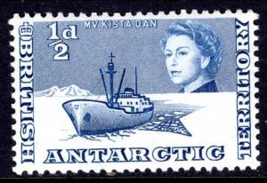 British Antarctic Territory 1 Ship MNH VF
