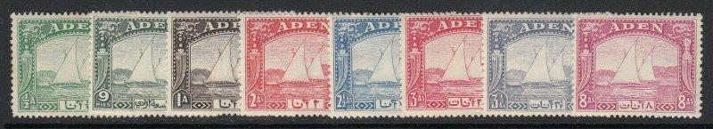 Aden Sc 1-8 (SG 1-8), MLH/HR (part set)