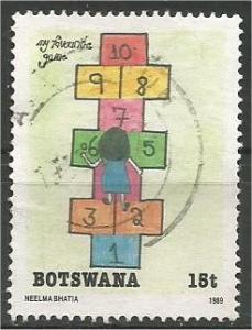 BOTSWANA, 1989, used 15c,  Neelma Bhatia Scott 461