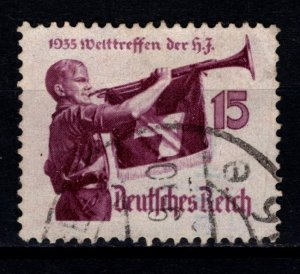Germany 1935 World Jamboree of 'Hitler Youth', 15pf [Used]