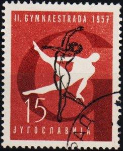 Yugoslavia. 1957 15d S.G.856 Fine Used