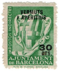 (I.B) Spain Revenue : Barcelona Local Alcohol Tax 30c