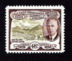 ST. KITTS AND NEVIS  SC# 115  FVF/MNH