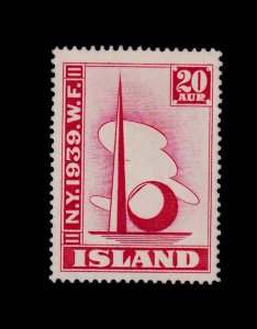 ICELAND 213 MNH