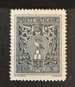 Vatican City 1945 #91, MNH, CV $.25