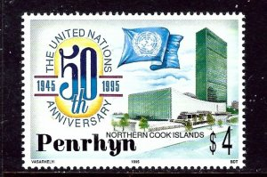 Penrhyn Is 446 MNH 1995 U.N. 50th Anniv    (ap5822)