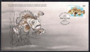 Mozambique FDC card Sc 642 Cousteau Soc. Scorpion Fish  L75