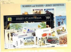 Jersey Scott 883-932, 916a Mint NH (1999 Year Set)
