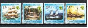 Papua New Guinea 960-963 MNH
