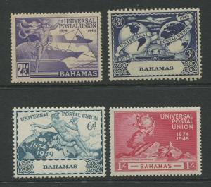 Bahamas #150-153 MVLH 1949  Set of 4 Stamps