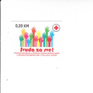 2016 Serbia Red Cross Charity Stamp SA (Scott RA78) MNH