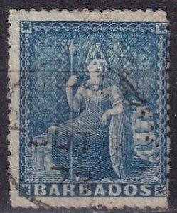 Barbados #33 Used  CV $3.25 (Z2451)