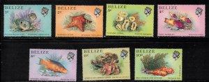 BELIZE Scott # 699-705 MNH - Marine Life - Fish 2