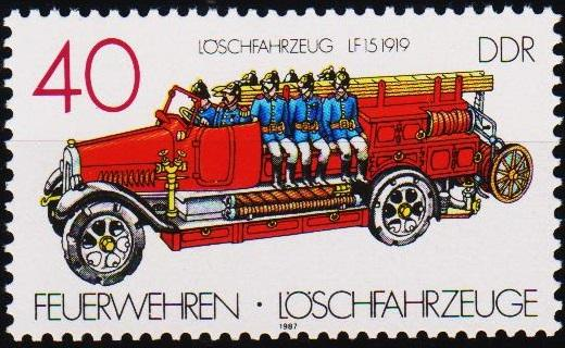 Germany(DDR). 1987 40pf  S.G.E2810 Unmounted Mint