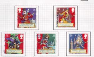 Great Britain Sc 1458-2 1992 Sir Arthur Sullivan stamps used