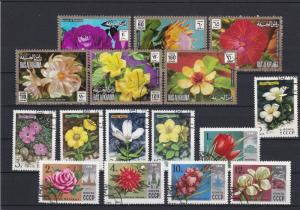 Flora Flowers Plants Stamps Ref 23992