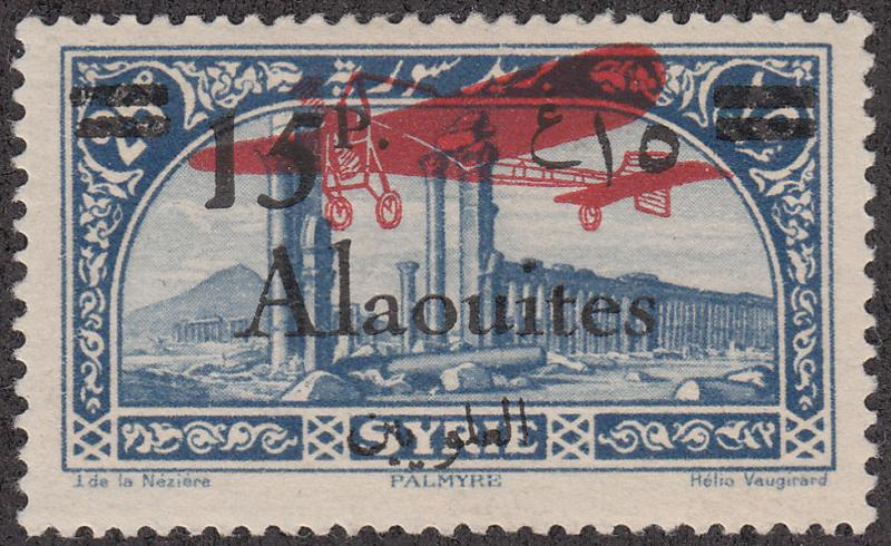 Alaouites #C21 Syria Stamp Overprinted MH
