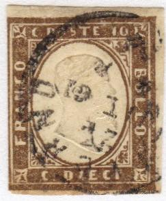 Italy #17 used 19th century CV $290