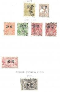 Australia Excellent Officials O4 thru O8 + O12 and CO1 High CV $$$$